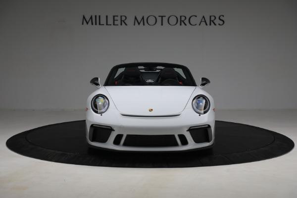 Used 2019 Porsche 911 Speedster for sale $395,900 at Bentley Greenwich in Greenwich CT 06830 12