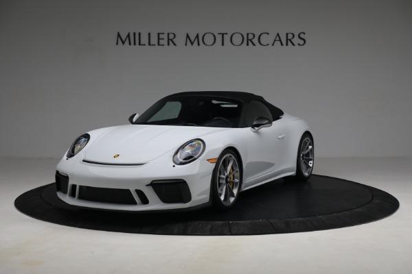 Used 2019 Porsche 911 Speedster for sale $395,900 at Bentley Greenwich in Greenwich CT 06830 13