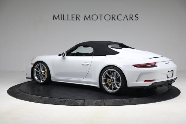 Used 2019 Porsche 911 Speedster for sale $395,900 at Bentley Greenwich in Greenwich CT 06830 15