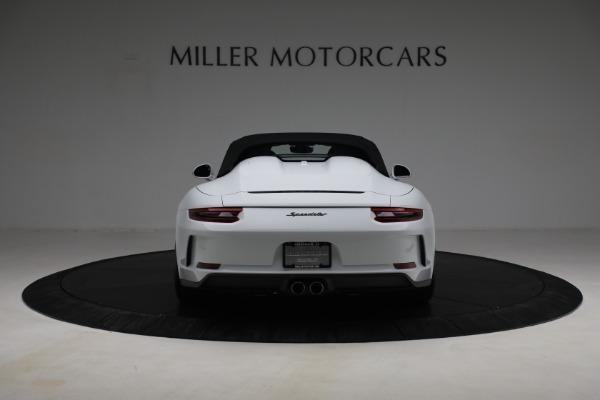 Used 2019 Porsche 911 Speedster for sale $395,900 at Bentley Greenwich in Greenwich CT 06830 16
