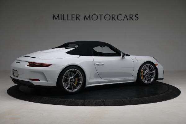 Used 2019 Porsche 911 Speedster for sale $395,900 at Bentley Greenwich in Greenwich CT 06830 18