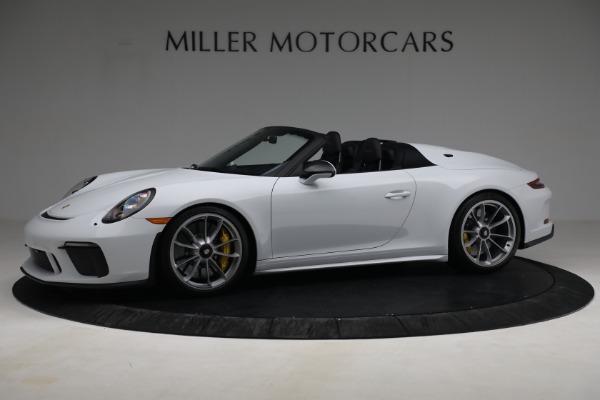 Used 2019 Porsche 911 Speedster for sale $395,900 at Bentley Greenwich in Greenwich CT 06830 2