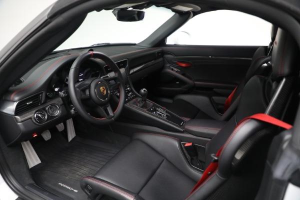 Used 2019 Porsche 911 Speedster for sale $395,900 at Bentley Greenwich in Greenwich CT 06830 22