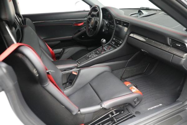 Used 2019 Porsche 911 Speedster for sale $395,900 at Bentley Greenwich in Greenwich CT 06830 25
