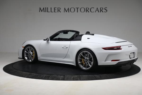 Used 2019 Porsche 911 Speedster for sale $395,900 at Bentley Greenwich in Greenwich CT 06830 4