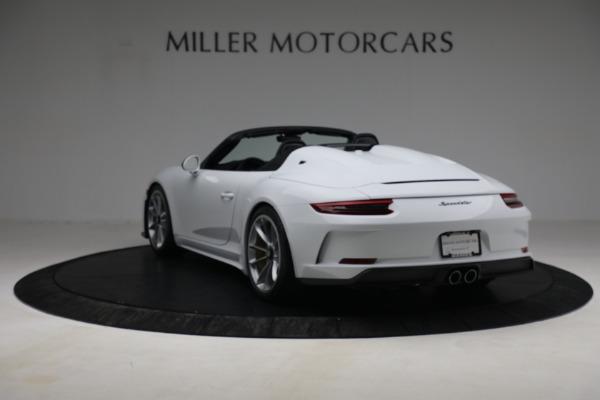 Used 2019 Porsche 911 Speedster for sale $395,900 at Bentley Greenwich in Greenwich CT 06830 5
