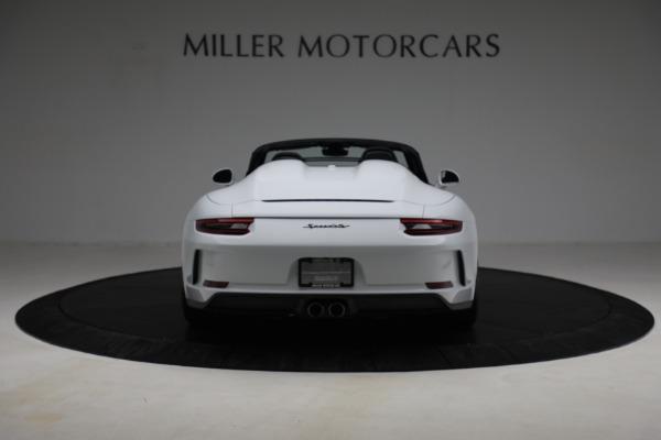 Used 2019 Porsche 911 Speedster for sale $395,900 at Bentley Greenwich in Greenwich CT 06830 6