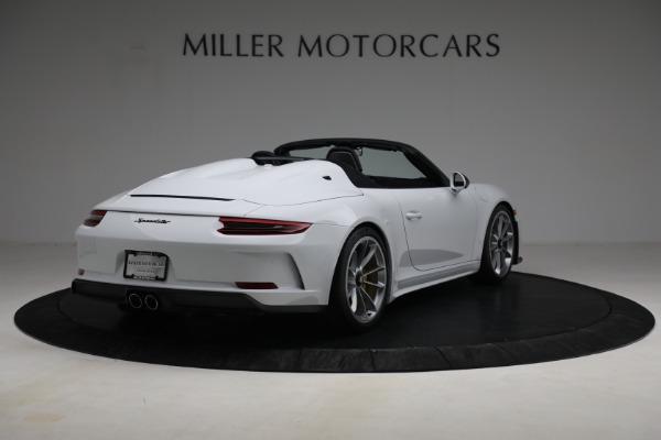 Used 2019 Porsche 911 Speedster for sale $395,900 at Bentley Greenwich in Greenwich CT 06830 7