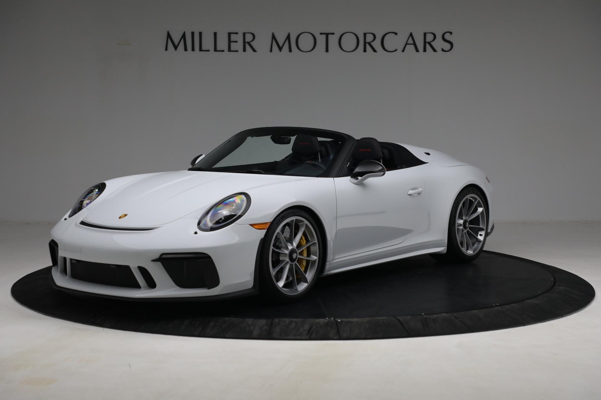 Used 2019 Porsche 911 Speedster for sale $395,900 at Bentley Greenwich in Greenwich CT 06830 1