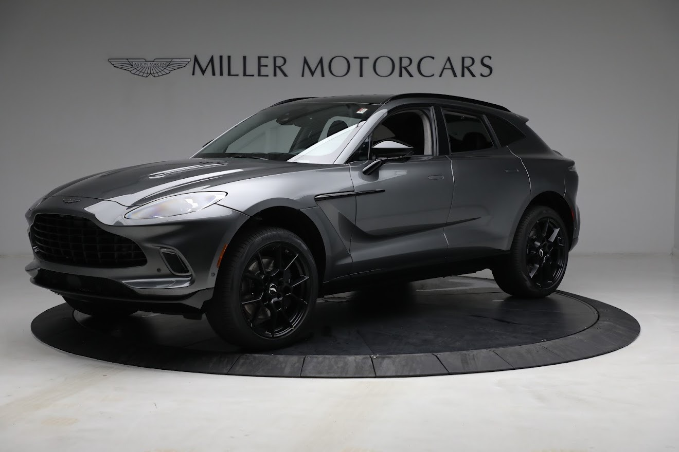 New 2021 Aston Martin DBX for sale $202,286 at Bentley Greenwich in Greenwich CT 06830 1