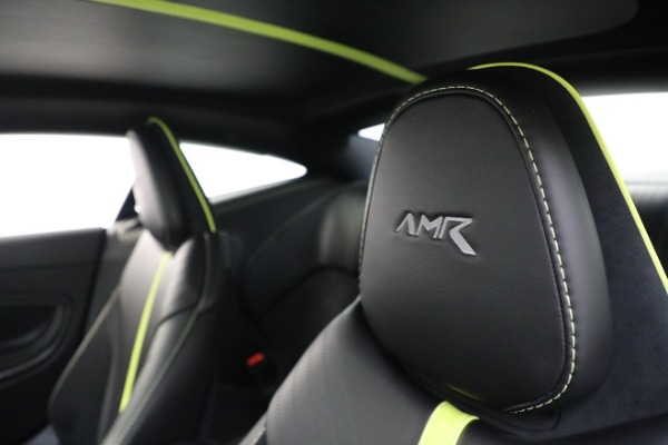 Used 2019 Aston Martin DB11 AMR for sale Call for price at Bentley Greenwich in Greenwich CT 06830 17