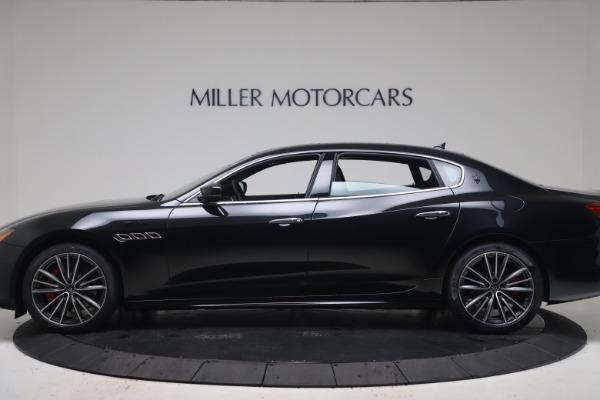 New 2022 Maserati Quattroporte Modena Q4 for sale $128,775 at Bentley Greenwich in Greenwich CT 06830 3