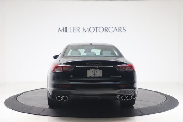 New 2022 Maserati Quattroporte Modena Q4 for sale $128,775 at Bentley Greenwich in Greenwich CT 06830 6