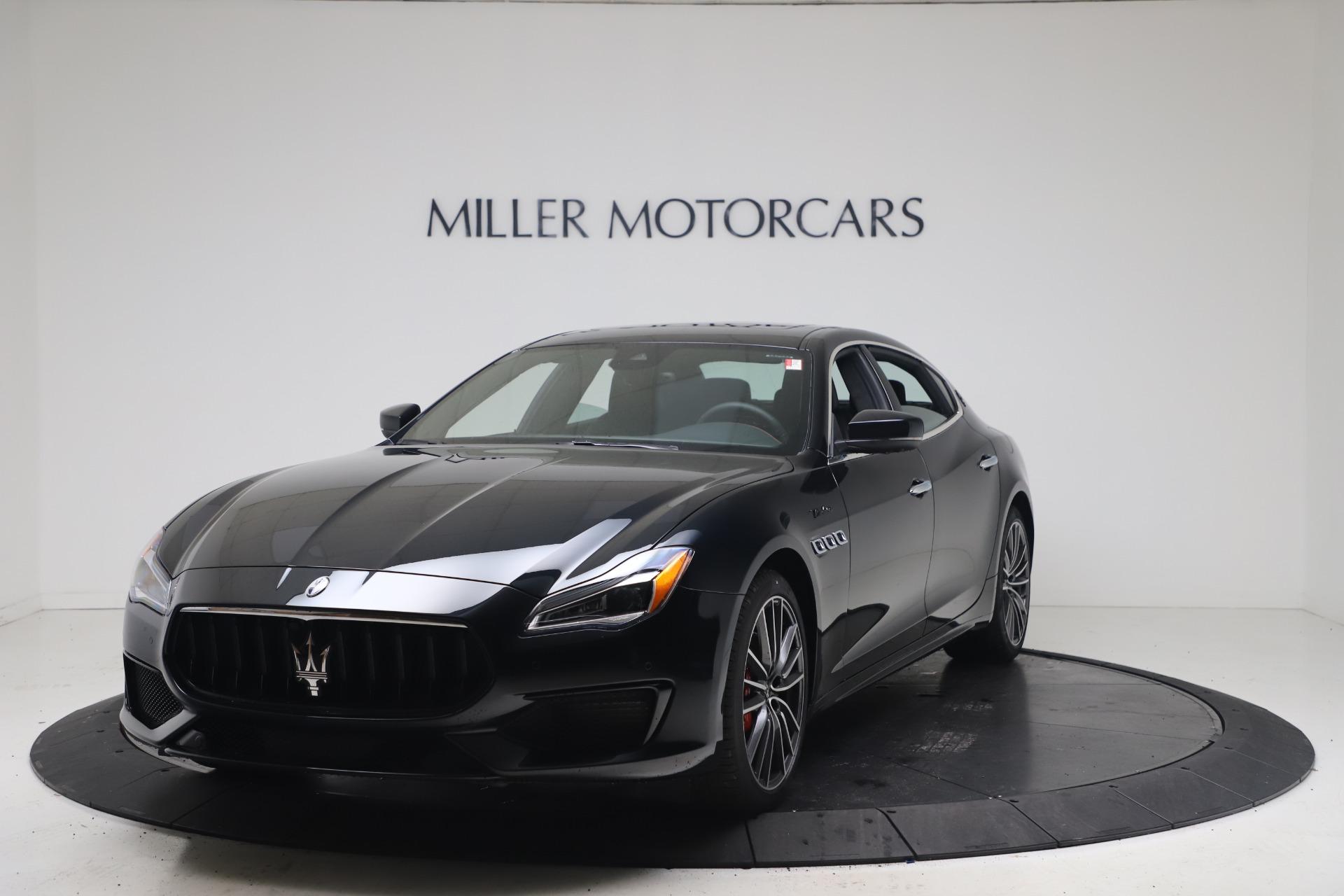 New 2022 Maserati Quattroporte Modena Q4 for sale $128,775 at Bentley Greenwich in Greenwich CT 06830 1