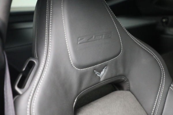 Used 2016 Chevrolet Corvette Z06 for sale $85,900 at Bentley Greenwich in Greenwich CT 06830 25
