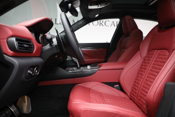New 2022 Maserati Levante Trofeo for sale $155,045 at Bentley Greenwich in Greenwich CT 06830 14
