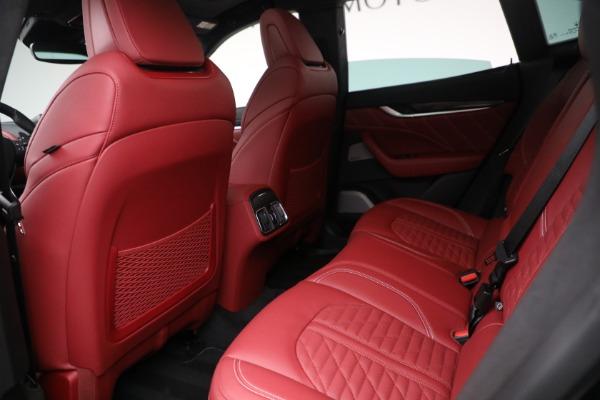 New 2022 Maserati Levante Trofeo for sale $155,045 at Bentley Greenwich in Greenwich CT 06830 22