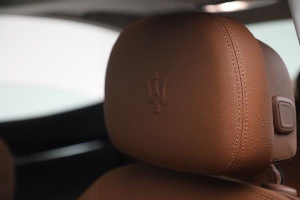 New 2022 Maserati Ghibli Modena Q4 for sale $86,645 at Bentley Greenwich in Greenwich CT 06830 16