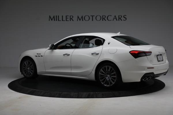 New 2022 Maserati Ghibli Modena Q4 for sale $86,645 at Bentley Greenwich in Greenwich CT 06830 4