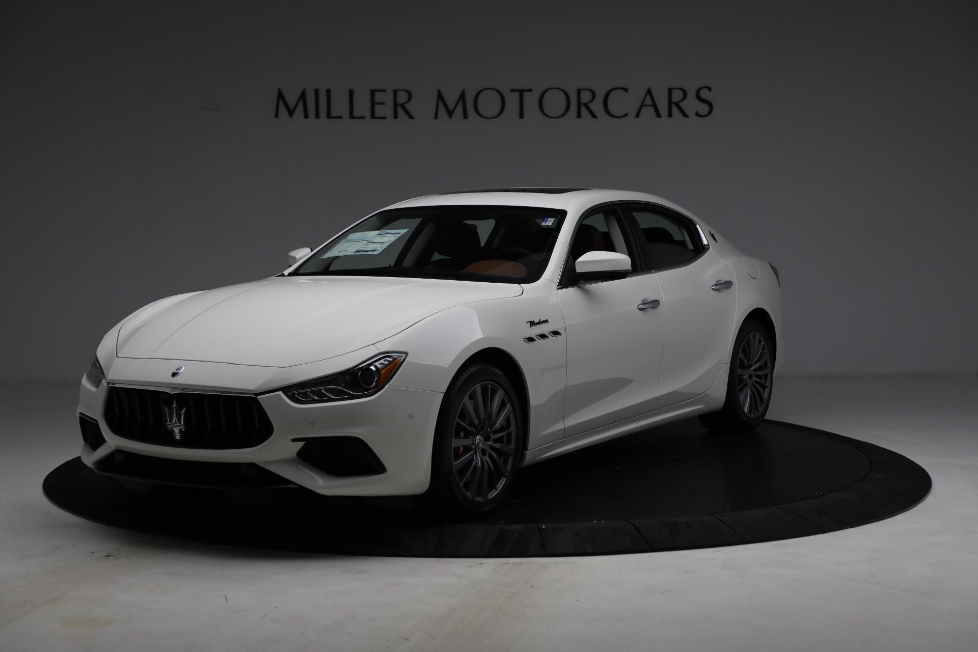 New 2022 Maserati Ghibli Modena Q4 for sale $86,645 at Bentley Greenwich in Greenwich CT 06830 1