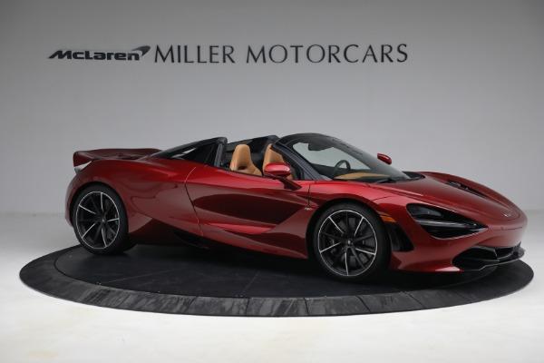 New 2022 McLaren 720S Spider for sale $382,090 at Bentley Greenwich in Greenwich CT 06830 10