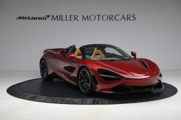 New 2022 McLaren 720S Spider for sale $382,090 at Bentley Greenwich in Greenwich CT 06830 11