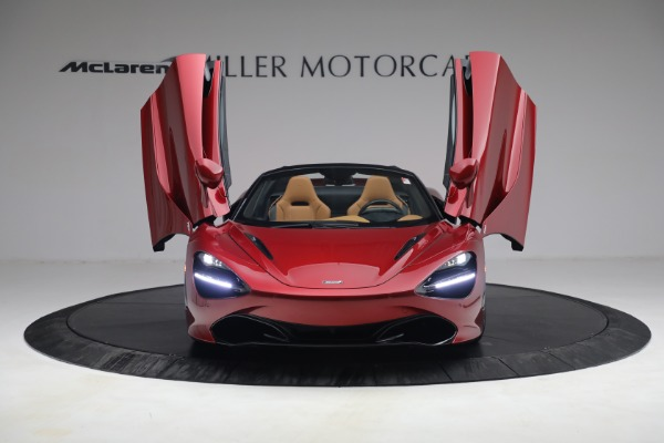 New 2022 McLaren 720S Spider for sale $382,090 at Bentley Greenwich in Greenwich CT 06830 13