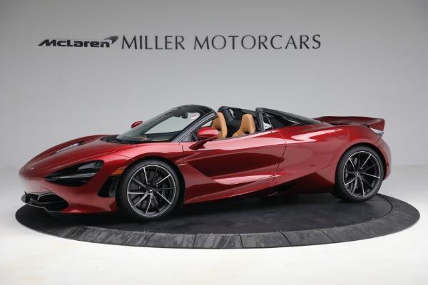 New 2022 McLaren 720S Spider for sale $382,090 at Bentley Greenwich in Greenwich CT 06830 2