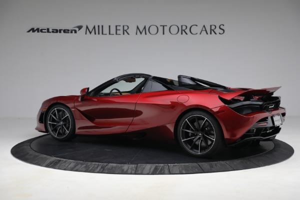 New 2022 McLaren 720S Spider for sale $382,090 at Bentley Greenwich in Greenwich CT 06830 4