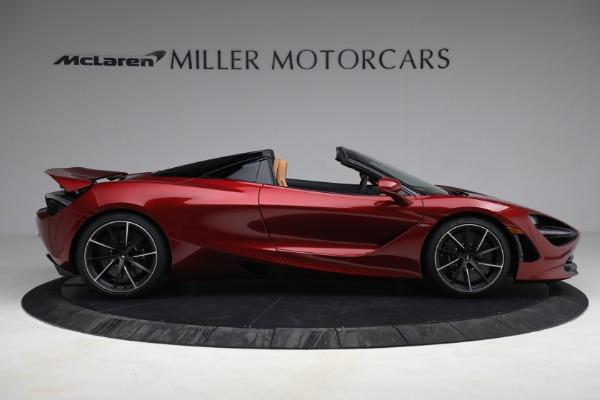 New 2022 McLaren 720S Spider for sale $382,090 at Bentley Greenwich in Greenwich CT 06830 9