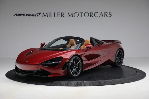 New 2022 McLaren 720S Spider for sale $382,090 at Bentley Greenwich in Greenwich CT 06830 1
