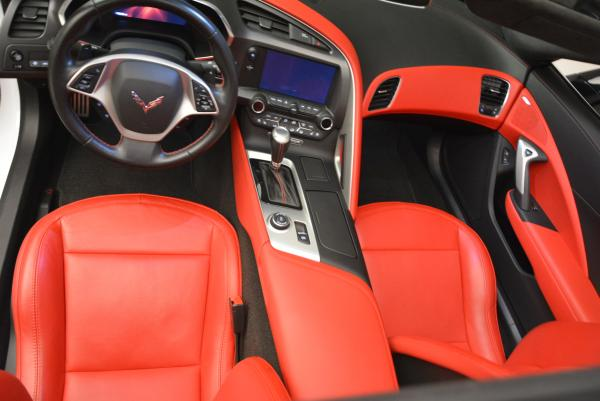 Used 2014 Chevrolet Corvette Stingray Z51 for sale Sold at Bentley Greenwich in Greenwich CT 06830 17