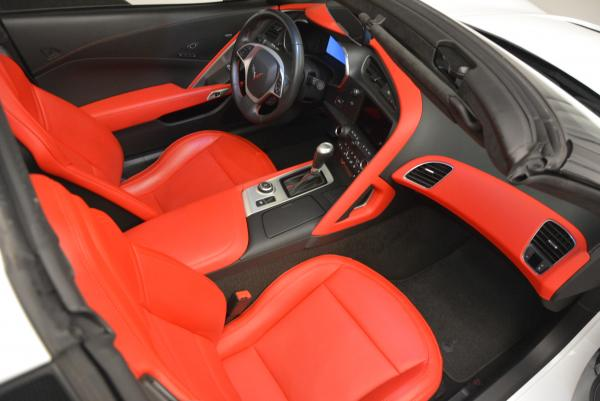 Used 2014 Chevrolet Corvette Stingray Z51 for sale Sold at Bentley Greenwich in Greenwich CT 06830 18