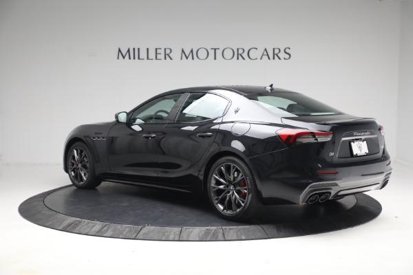 New 2022 Maserati Ghibli Modena Q4 for sale $103,855 at Bentley Greenwich in Greenwich CT 06830 4