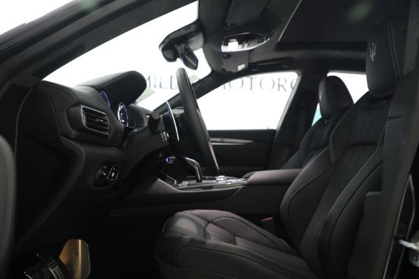 New 2022 Maserati Levante Modena for sale $108,775 at Bentley Greenwich in Greenwich CT 06830 15