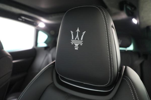 New 2022 Maserati Levante Modena for sale $108,775 at Bentley Greenwich in Greenwich CT 06830 19