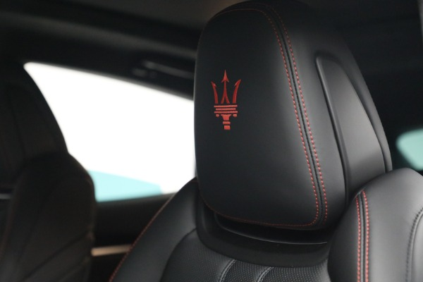 New 2022 Maserati Levante GT for sale Call for price at Bentley Greenwich in Greenwich CT 06830 16