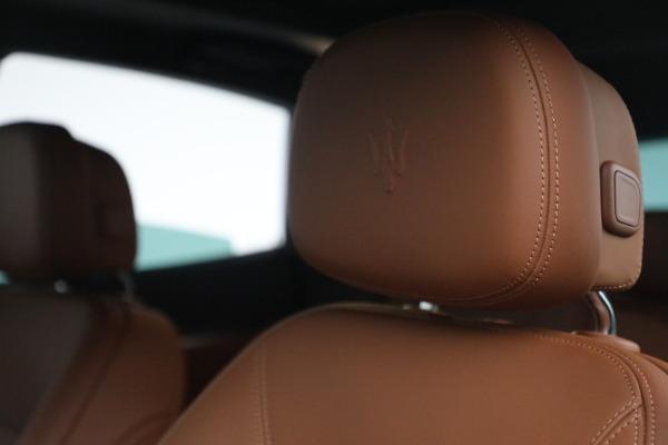 New 2022 Maserati Levante Modena for sale $104,545 at Bentley Greenwich in Greenwich CT 06830 16