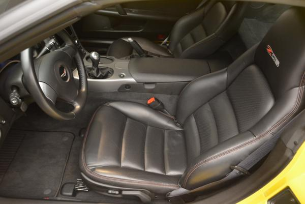 Used 2006 Chevrolet Corvette Z06 Hardtop for sale Sold at Bentley Greenwich in Greenwich CT 06830 13