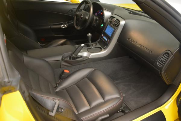 Used 2006 Chevrolet Corvette Z06 Hardtop for sale Sold at Bentley Greenwich in Greenwich CT 06830 15