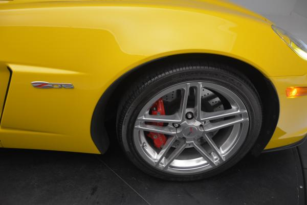 Used 2006 Chevrolet Corvette Z06 Hardtop for sale Sold at Bentley Greenwich in Greenwich CT 06830 18