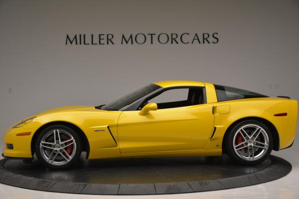 Used 2006 Chevrolet Corvette Z06 Hardtop for sale Sold at Bentley Greenwich in Greenwich CT 06830 3