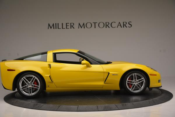 Used 2006 Chevrolet Corvette Z06 Hardtop for sale Sold at Bentley Greenwich in Greenwich CT 06830 8