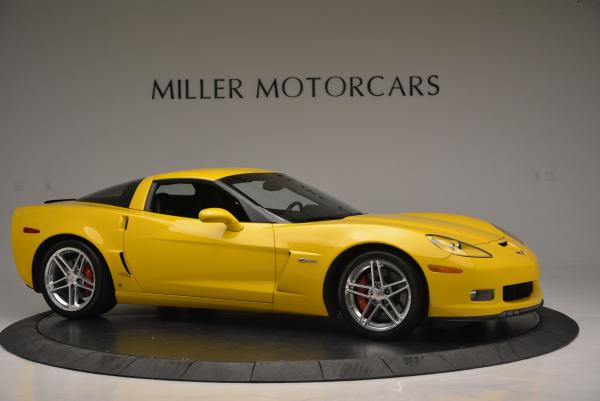 Used 2006 Chevrolet Corvette Z06 Hardtop for sale Sold at Bentley Greenwich in Greenwich CT 06830 9