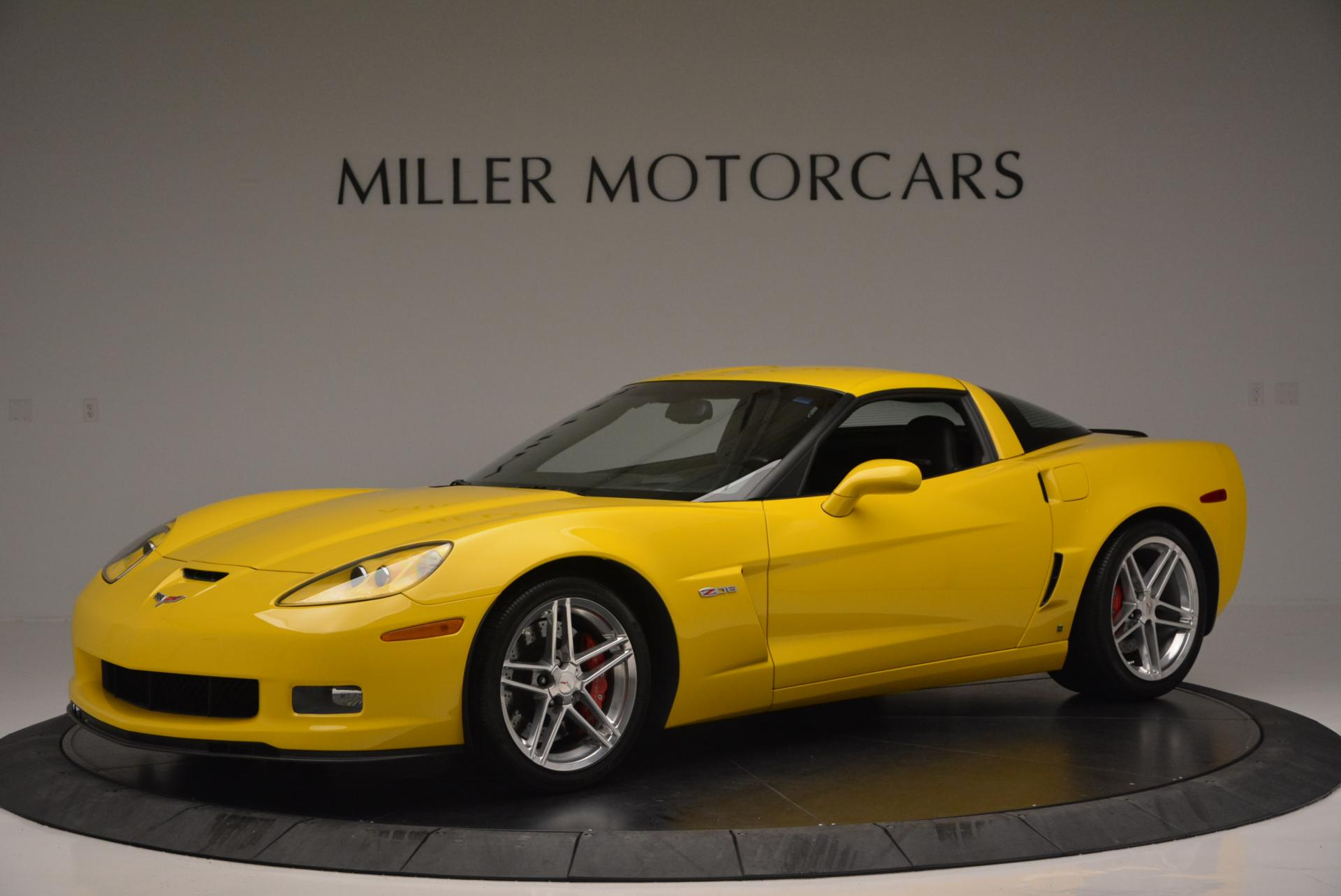 Used 2006 Chevrolet Corvette Z06 Hardtop for sale Sold at Bentley Greenwich in Greenwich CT 06830 1