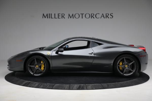 Used 2011 Ferrari 458 Italia for sale $229,900 at Bentley Greenwich in Greenwich CT 06830 3