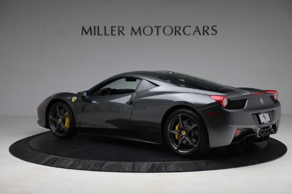 Used 2011 Ferrari 458 Italia for sale $229,900 at Bentley Greenwich in Greenwich CT 06830 4