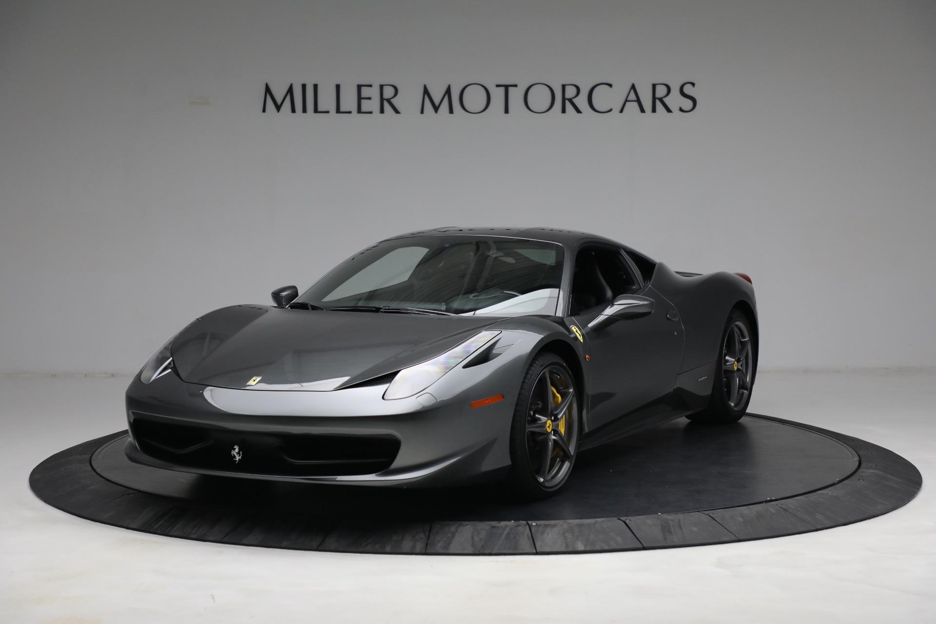 Used 2011 Ferrari 458 Italia for sale $229,900 at Bentley Greenwich in Greenwich CT 06830 1