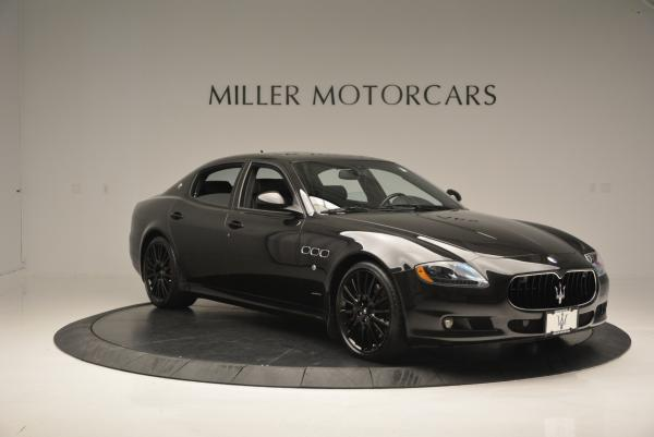 Used 2011 Maserati Quattroporte Sport GT S for sale Sold at Bentley Greenwich in Greenwich CT 06830 11