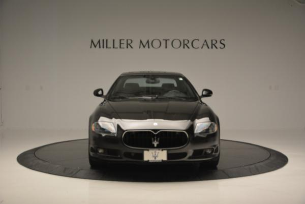 Used 2011 Maserati Quattroporte Sport GT S for sale Sold at Bentley Greenwich in Greenwich CT 06830 12